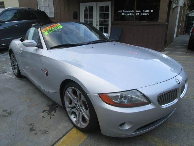 2003 Bmw Z4 For Sale In Roseville Ca