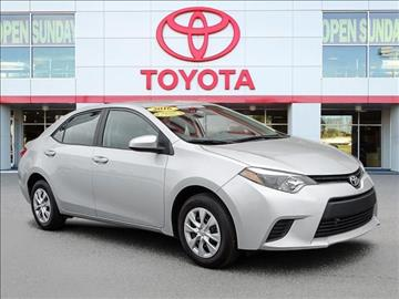 2016 Toyota Corolla for sale in Durham, NC