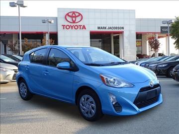 2016 Toyota Prius c for sale in Durham, NC