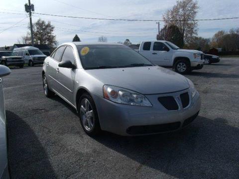 2007 Pontiac G6 for sale in Rockville, IN