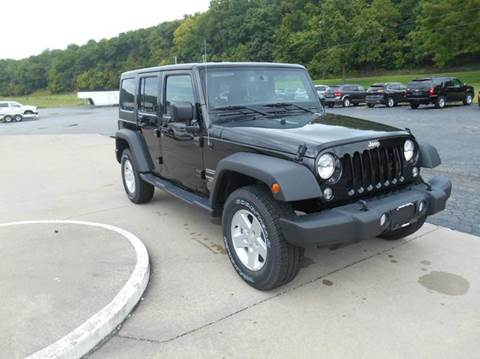 2017 Jeep Wrangler Unlimited for sale in Hermann MO