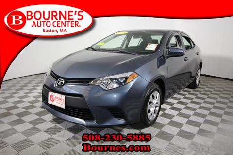 2015 Toyota Corolla for sale in South Easton, MA