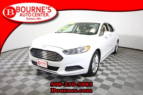2013 Ford Fusion for sale in South Easton, MA