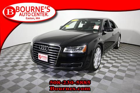 2015 Audi A8 L for sale in South Easton, MA