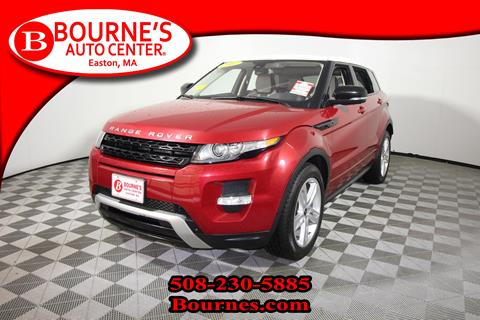 2012 Land Rover Range Rover Evoque for sale in South Easton, MA