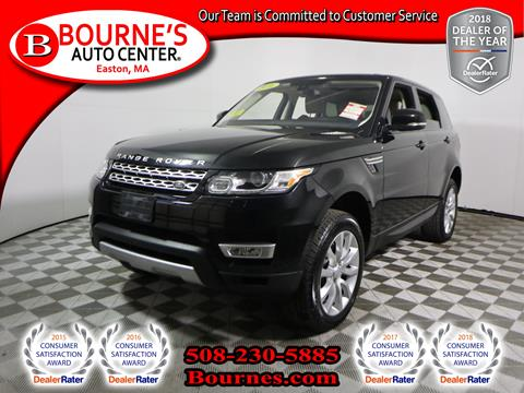 2016 Land Rover Range Rover Sport for sale in South Easton, MA