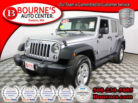 2016 Jeep Wrangler Unlimited for sale in South Easton, MA