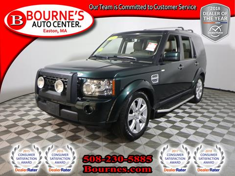 2013 Land Rover LR4 for sale in South Easton, MA