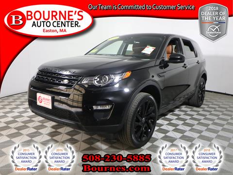 2016 Land Rover Discovery Sport for sale in South Easton, MA