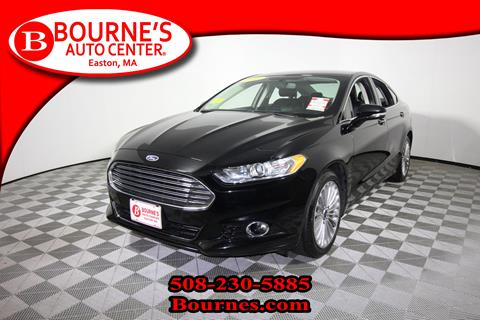 2016 Ford Fusion for sale in South Easton, MA