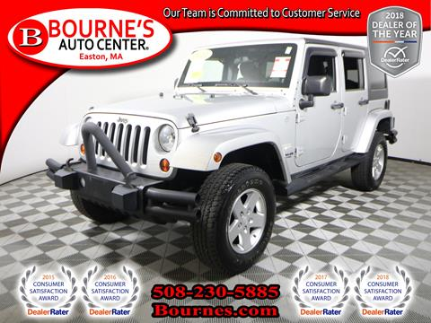 2011 Jeep Wrangler Unlimited for sale in South Easton, MA