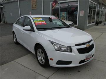 2012 Chevrolet Cruze for sale in Salem, MA