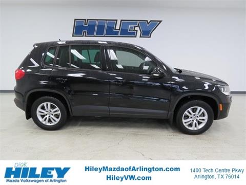 2012 Volkswagen Tiguan for sale in Arlington, TX