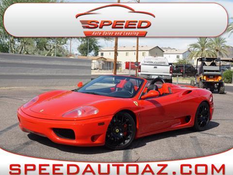 2003 Ferrari 360 Spider for sale in Phoenix, AZ