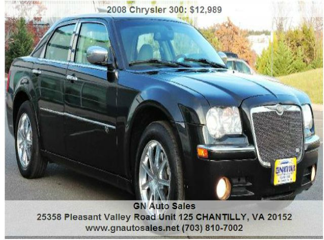 2008 Chrysler 300 for sale in CHANTILLY VA