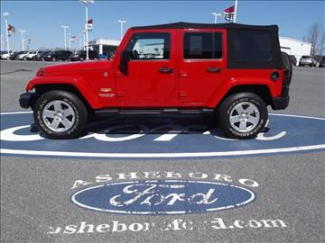 2012 Jeep Wrangler Unlimited for sale in Asheboro, NC