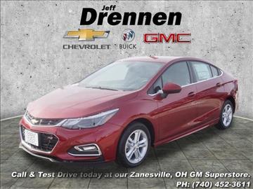 2017 Chevrolet Cruze for sale in Zanesville, OH