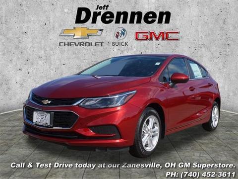 2018 Chevrolet Cruze for sale in Zanesville OH