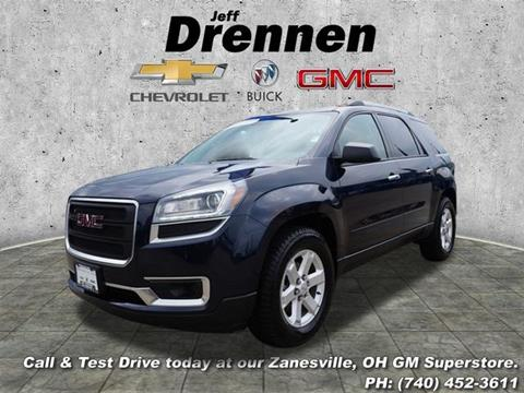 2016 GMC Acadia for sale in Zanesville OH
