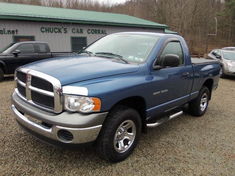 2003 dodge ram pickup 1500 st 2dr regular cab 4wd sb in mt pleasant pa chuck s car corral. Black Bedroom Furniture Sets. Home Design Ideas