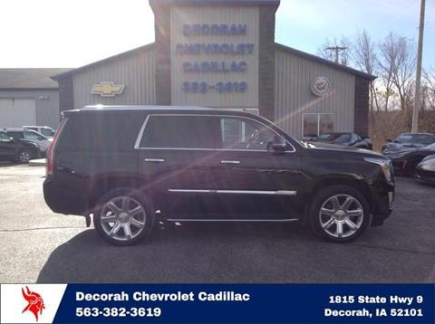 2017 Cadillac Escalade for sale in Decorah, IA