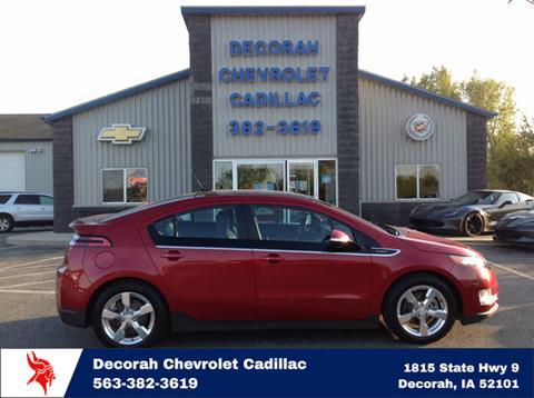 2012 Chevrolet Volt for sale in Decorah, IA