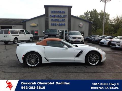 2017 Chevrolet Corvette for sale in Decorah, IA