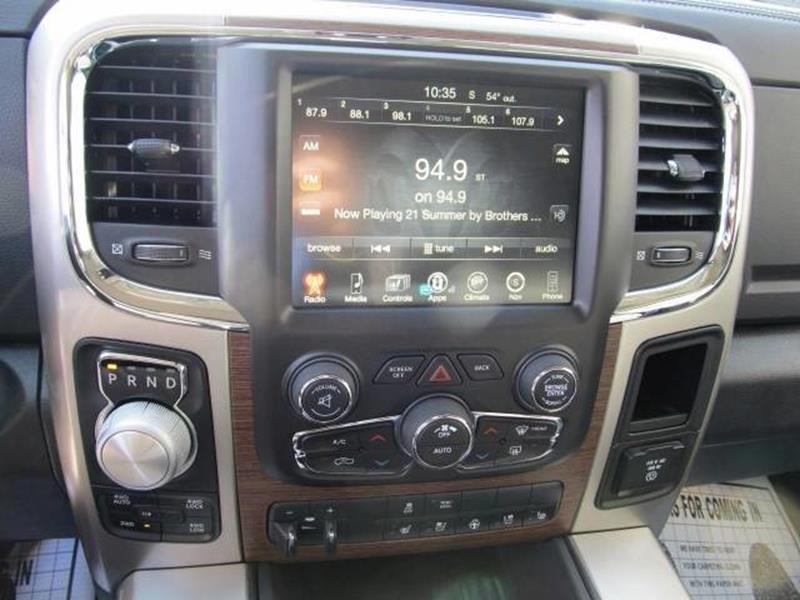 2017 RAM Ram Pickup 1500 4x4 Laramie 4dr Crew Cab 5.5 ft. SB Pickup - Floyd VA
