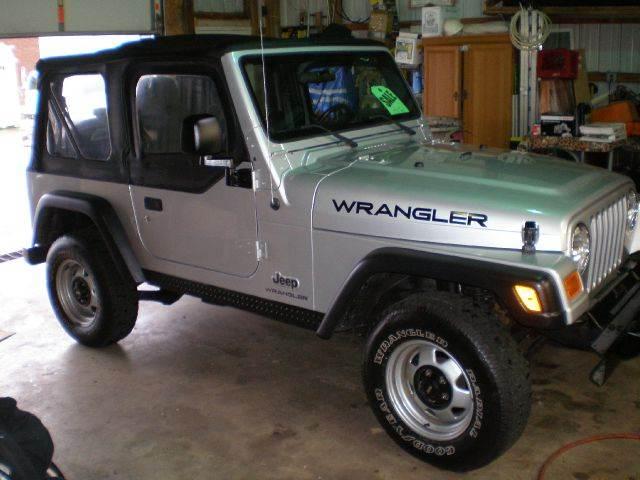 2003 jeep wrangler for sale for Southeast motors middleboro ma