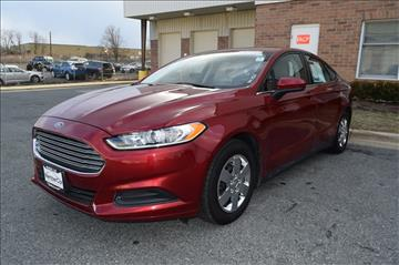 2013 Ford Fusion for sale in Rockville, MD
