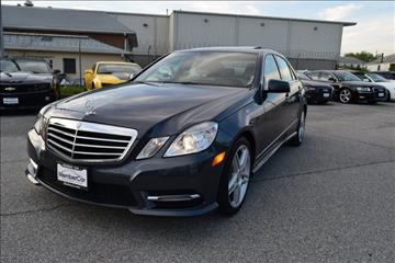 2013 Mercedes-Benz E-Class for sale in Rockville, MD
