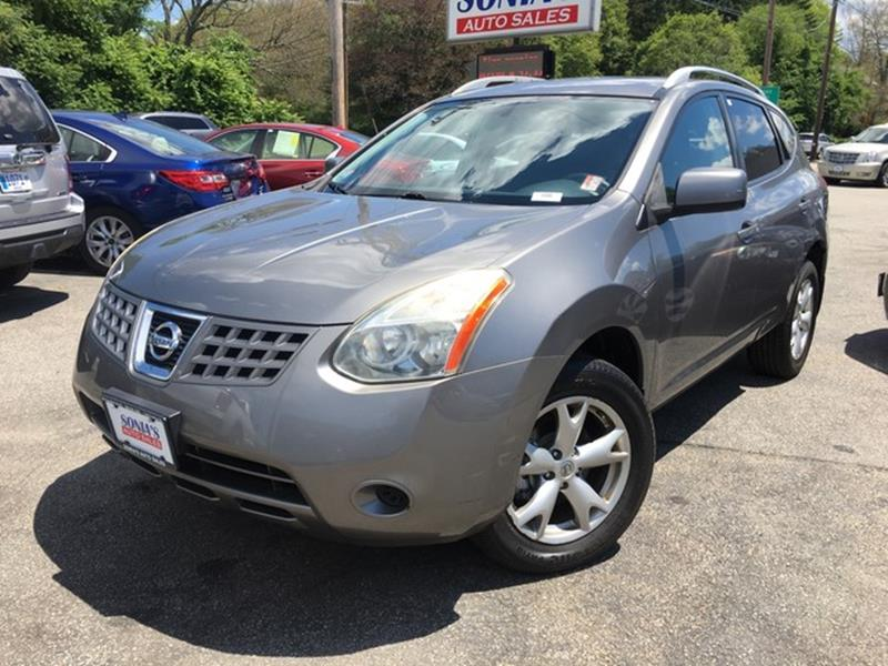 2008 Nissan Rogue AWD SL Crossover 4dr   Worcester MA