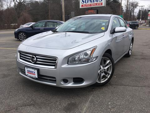 2014 nissan maxima for sale in worcester ma. Black Bedroom Furniture Sets. Home Design Ideas