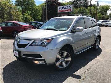2010 Acura MDX for sale in Worcester, MA