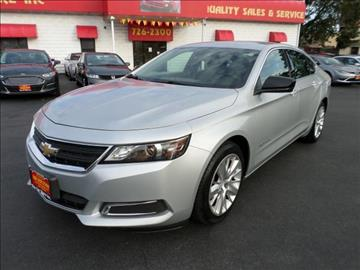 2016 Chevrolet Impala for sale in Pawtucket, RI