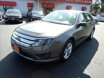 2012 Ford Fusion for sale in Pawtucket, RI