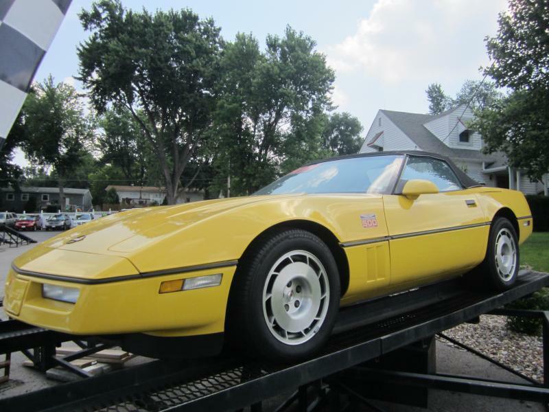 used 1986 chevrolet corvette for sale in missouri. Black Bedroom Furniture Sets. Home Design Ideas