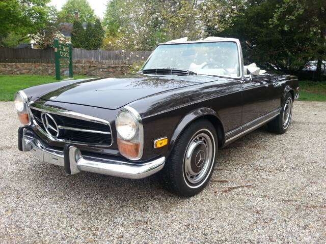 1971 Mercedes Benz Convertible Sale