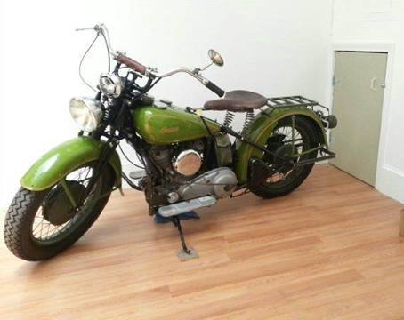 1942 Indian 741 Scout