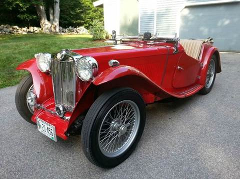1948 MG TC for sale in Beverly, MA