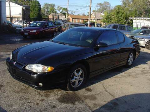 2001 Chevrolet Monte Carlo for sale in Chicago, IL