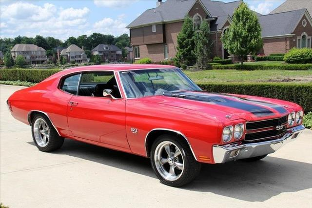 Used 1970 chevrolet chevelle in plymouth mi at vanguard for Vanguard motors plymouth michigan