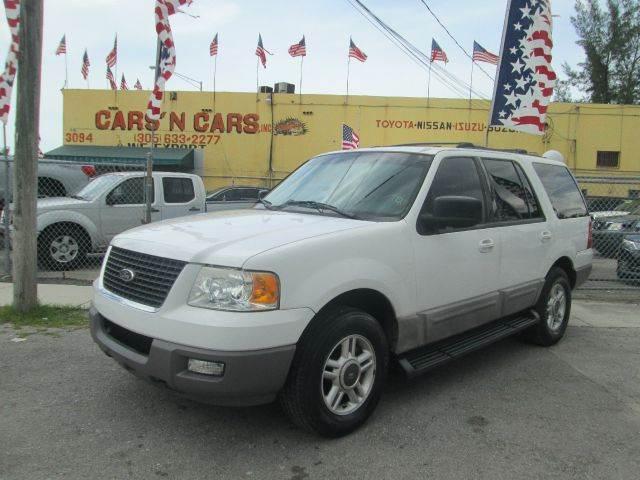 2003 FORD EXPEDITION XLT 4DR SUV white abs - 4-wheel adjustable pedals - power anti-theft system
