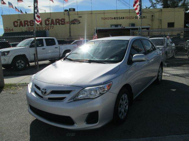2011 TOYOTA COROLLA LE 4DR SEDAN 4A silver abs - 4-wheel air filtration airbag deactivation - oc
