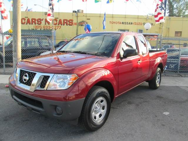 2012 NISSAN FRONTIER S KING CAB 2WD maroon 41742 miles VIN 1N6BD0CT7CC409776