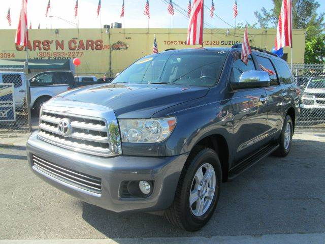 2008 TOYOTA SEQUOIA LIMITED 4X2 SUV blue 2-stage unlocking abs - 4-wheel airbag deactivation -