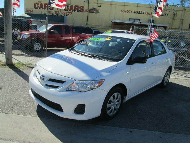 2011 TOYOTA COROLLA LE 4DR SEDAN 4A white abs - 4-wheel air filtration antenna type - element a