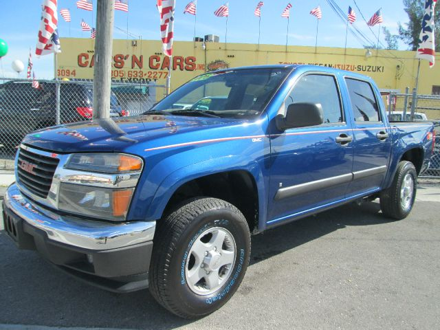 2006 GMC CANYON SLT CREW CAB 4WD blue 4wdawdabs brakesair conditioningalloy wheelsamfm radio