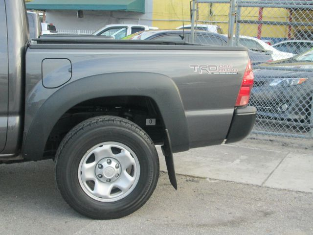 2012 TOYOTA TACOMA PRERUNNER V6 4X2 4DR DOUBLE CAB gray abs - 4-wheel active head restraints - du