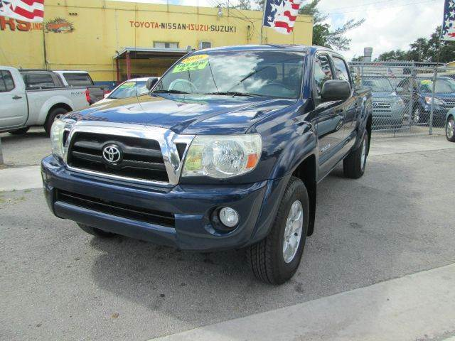 2006 TOYOTA TACOMA V6 4DR DOUBLE CAB 4WD SB 4L 5A blue 4wd type - part time abs - 4-wheel anti